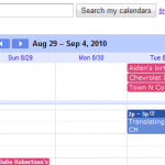 Getting Organized with a Google Calendar
