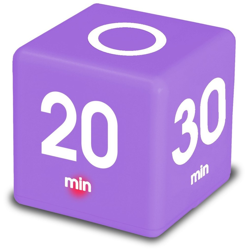 cube timer for adhd
